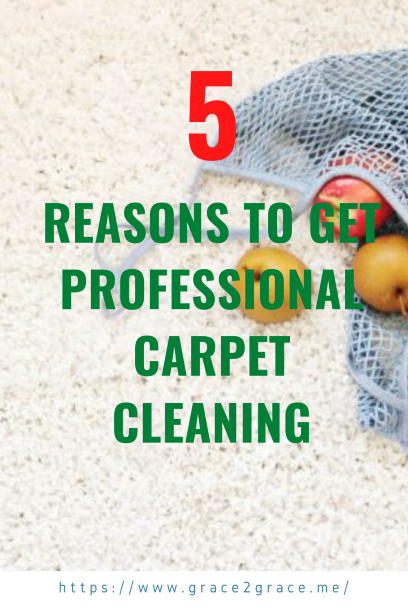 5 Reasons To Get Professional Carpet Cleaning