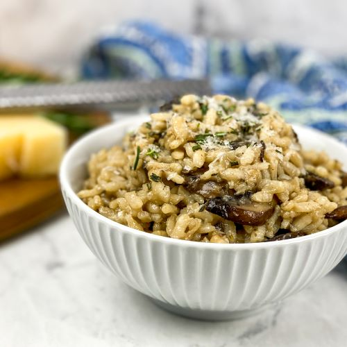 Step-By-Step Rustic Mushroom Risotto
